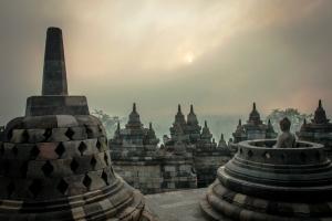 Borobuduras. Java